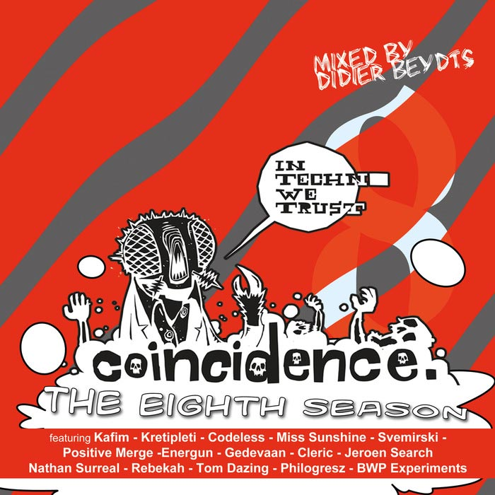 Didier Beydts - Coincidence: The Eighth Season (unmixed tracks) [2015]