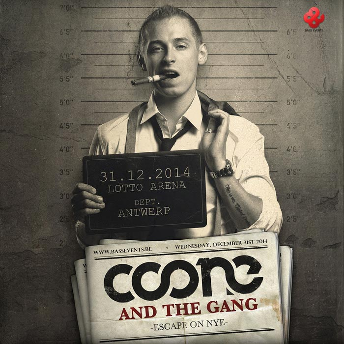 Coone And The Gang - Escape On NYE [2015]