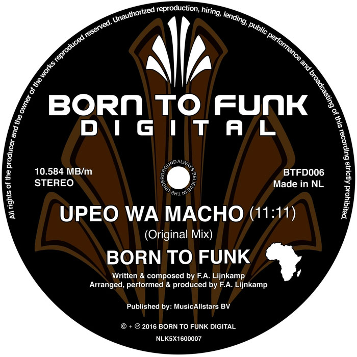 Born To Funk - Upeo Wa Macho [2016]