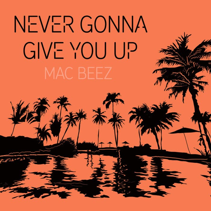 Mac Beez - Never Gonna Give You up [2017]