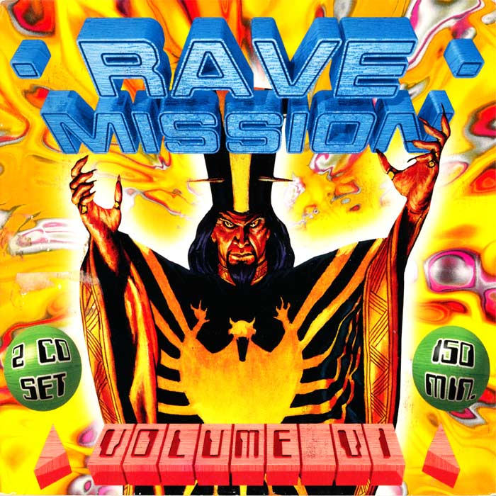 Vinyl records and cds - various artists - rave mission vol 13