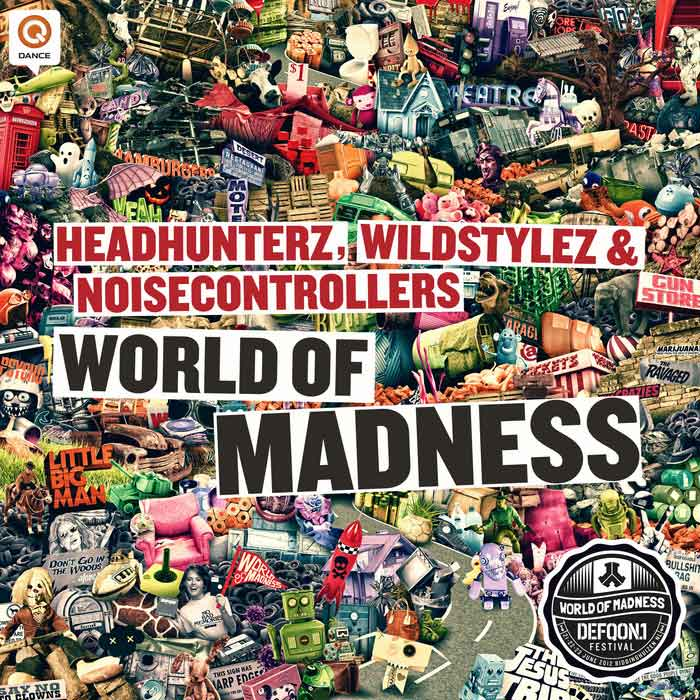 Headhunterz & Wildstylez & Noisecontrollers - World Of Madness (Defqon.1 2012 OST) [2012]