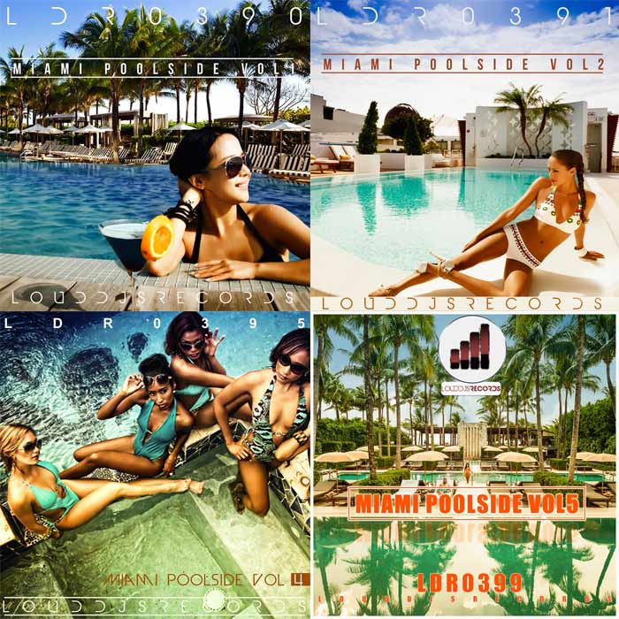Miami Poolside (Vol. 1,2,4,5) [2016]