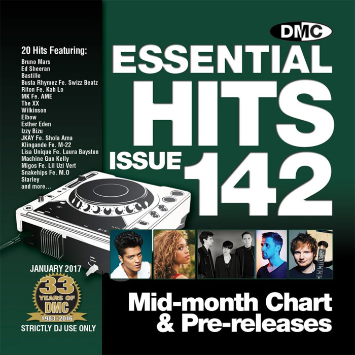 DMC Essential Hits 142: Mid Month Chart & Pre-releases (Strictly DJ Only) [2017]