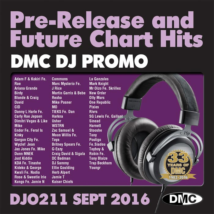 DJ Promo September 2016: Pre Release & Future Chart Hits (Strictly DJ Use Only) [2016]