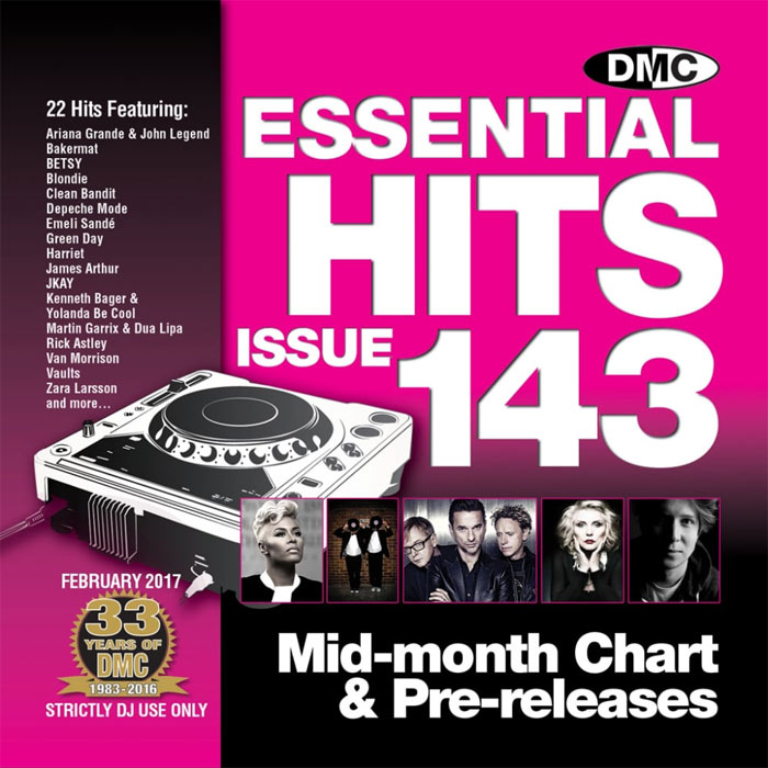 DMC Essential Hits 143 (Strictly DJ Only) [2017]
