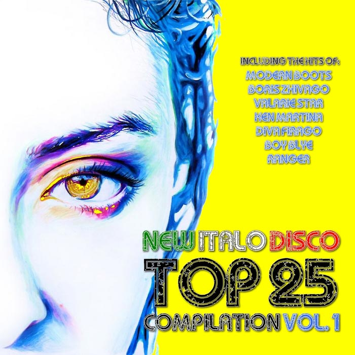New Italo Disco Top 25 Compilation (Vol. 1) [2015]