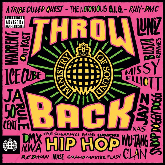 Throwback Hip Hop (Ministry Of Sound) [2017]
