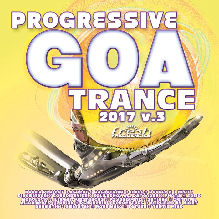 Progressive Goa Trance 2017 (Vol. 3) [2017]