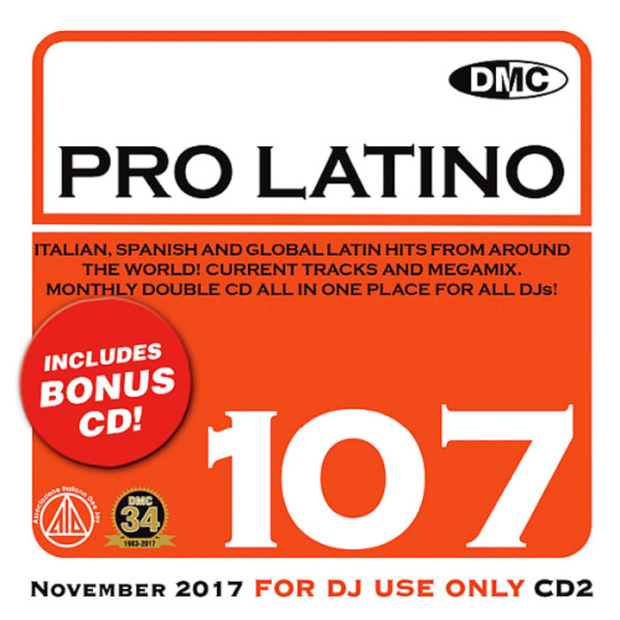 DMC Pro Latino 107 (Strictly DJ Only) [2017]