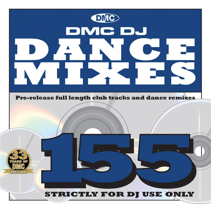 DMC Dance Mixes 155 (Strictly DJ Only) [2016]