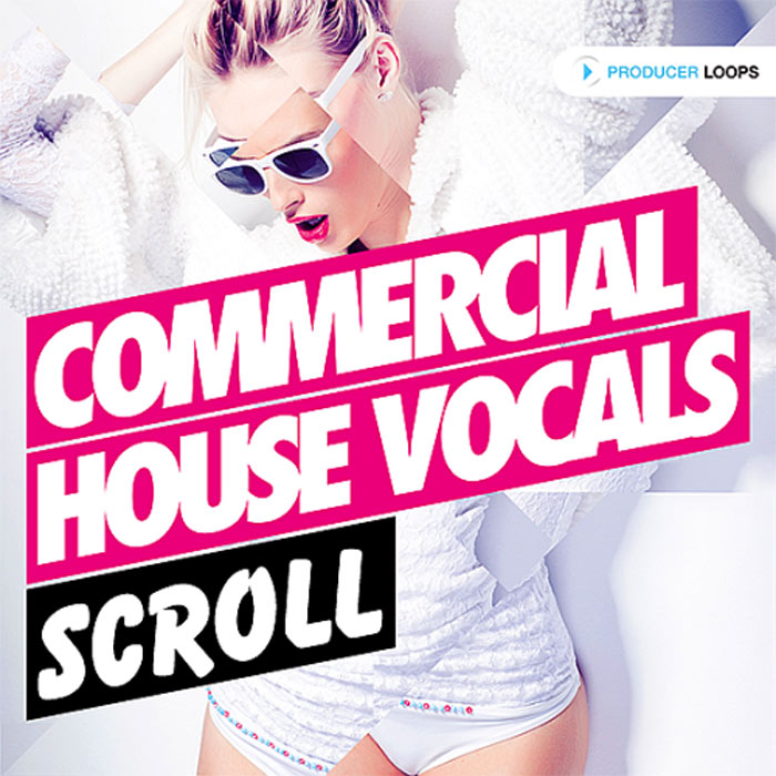Commercial House Vocals Scroll
