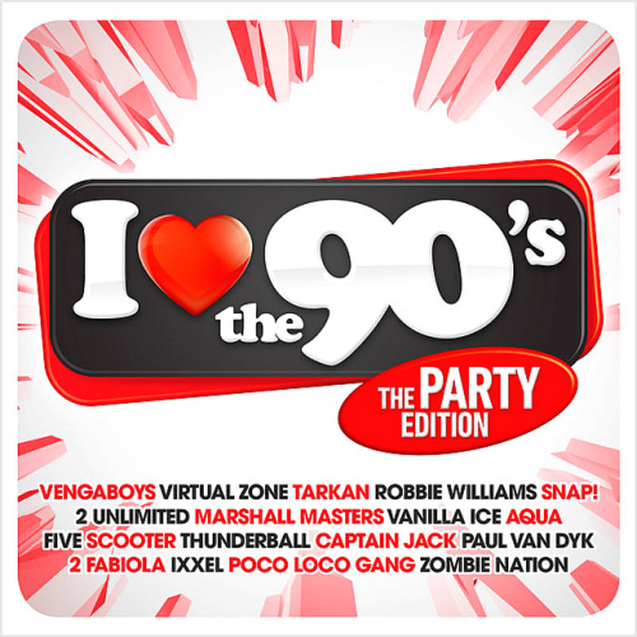 I Love The 90s The Party Edition