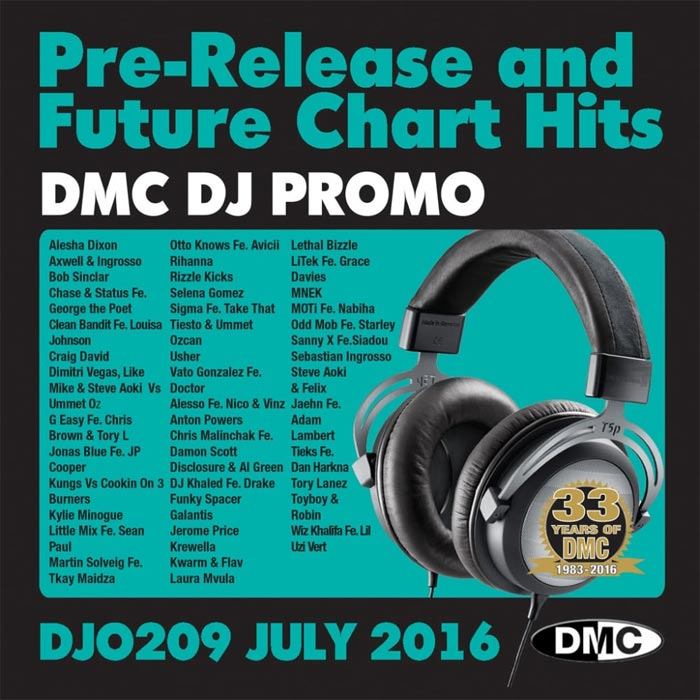 DJ Promo July 2016: Pre Release & Future Chart Hits (Strictly DJ Use Only) [2016]