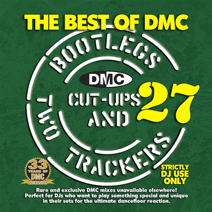 The Best Of DMC: Bootlegs Cut Ups & Two Trackers Vol. 27 (Strictly DJ Only) [2016]