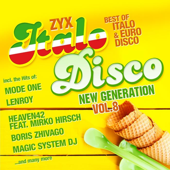 ZYX Italo Disco New Generation (Vol. 8) [2016]