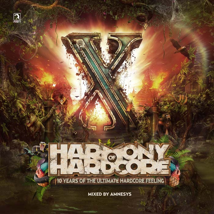 Harmony Of Hardcore 2015: 10 Years Of The Ultimate Harcore Feeling [2015]