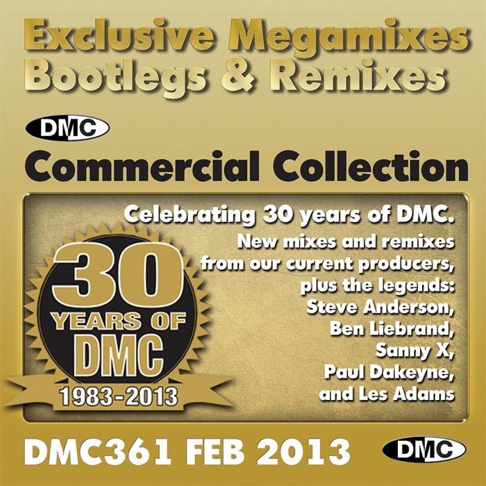 DMC Commercial Collection 361: Feb 2013 (Strictly DJ Use Only) [2013]