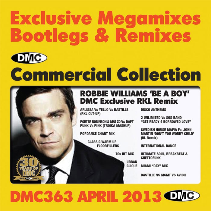 DMC Commercial Collection 363: April 2013 (Strictly DJ Use Only) [2013]
