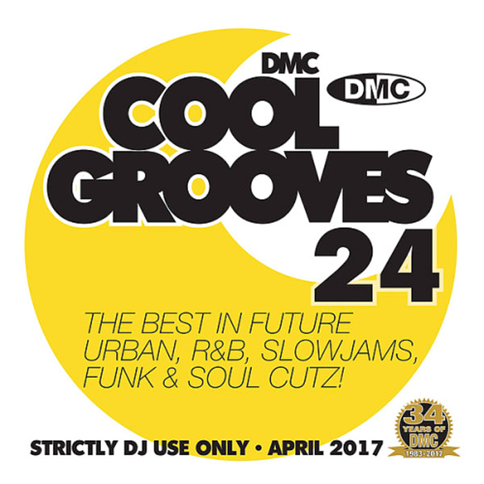 Cool Grooves 24: The Best In Future Urban, R&B, Slowjams, Funk & Soul Cutz! (Strictly DJ Only) [2017]