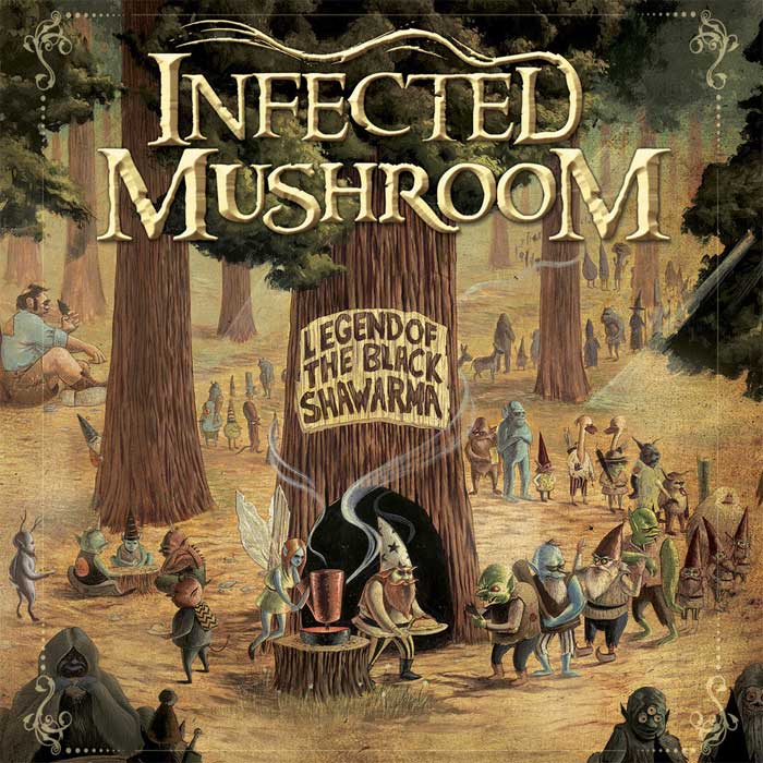 Infected Mushroom - Legend Of The Black Shawarma [2009]