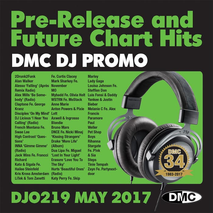 DJ Promo May 2017: Pre Release & Future Chart Hits (Strictly DJ Only) [2017]