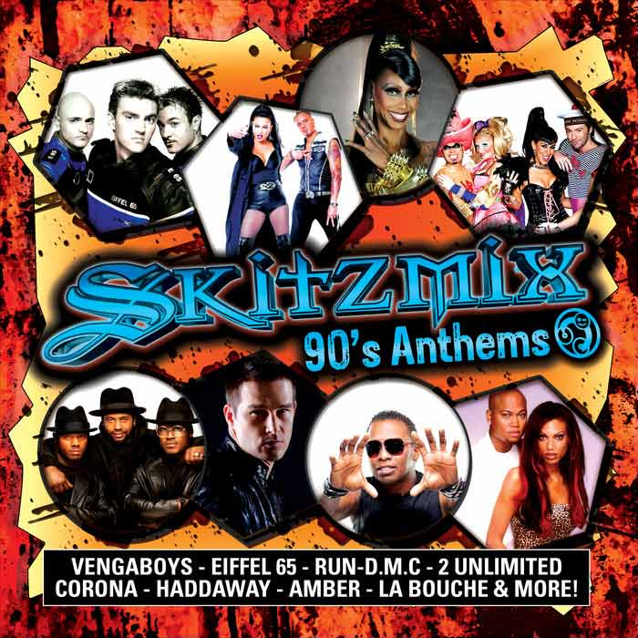 Skitzmix 90's Anthems (unmixed tracks) [2017]