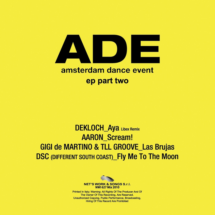 Amsterdam Dance Event (Vol. 2) [2010]