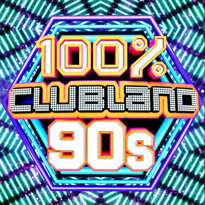 100% Clubland 90s (unmixed tracks) [2017]