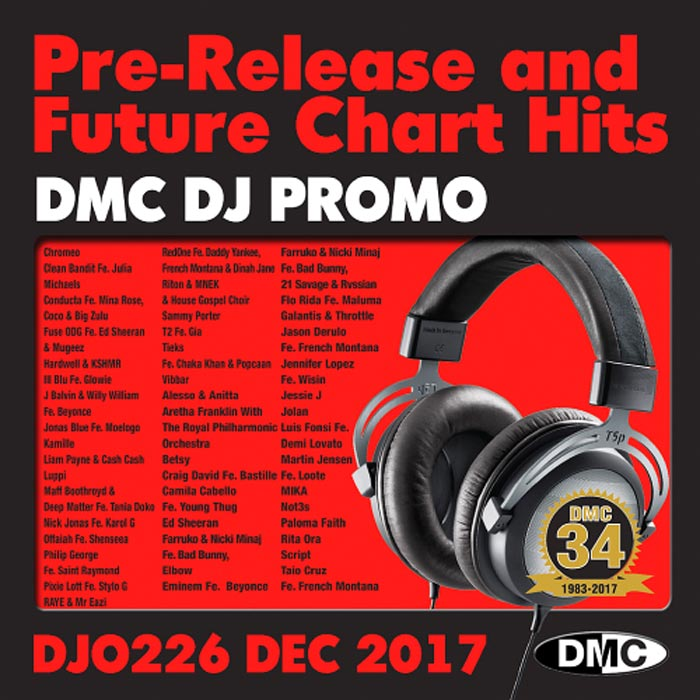 DJ Promo December 2017: Pre Release & Future Chart Hits (Strictly DJ Only) [2017]