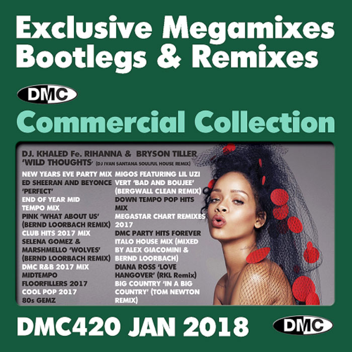 DMC Commercial Collection January 2018: Exclusive Megamixes Bootlegs & Remixes (Strictly DJ Only) [2018]