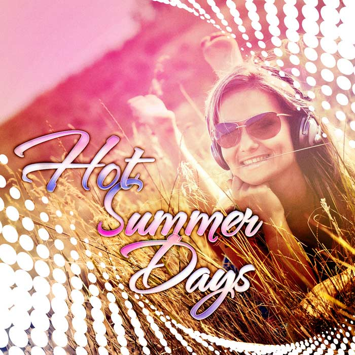 Hot Summer Days (unmixed tracks & continuous DJ mix) [2010]