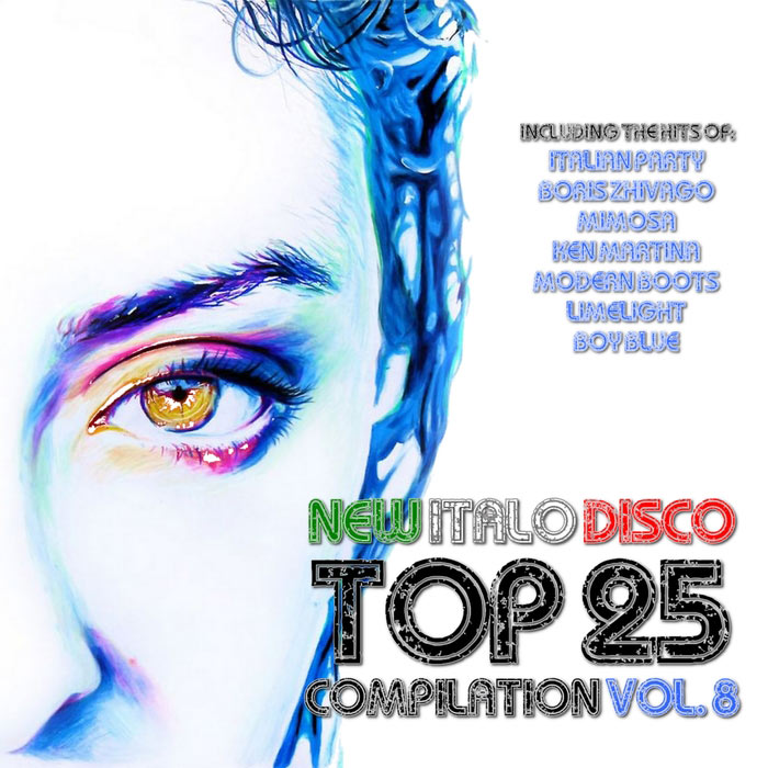 New Italo Disco Top 25 Compilation (Vol. 8) [2018]