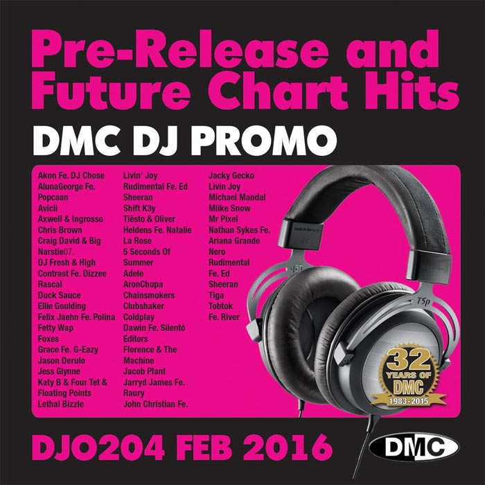DJ Promo Feb 2016: Pre Release & Future Chart Hits (Strictly DJ Use Only) [2016]