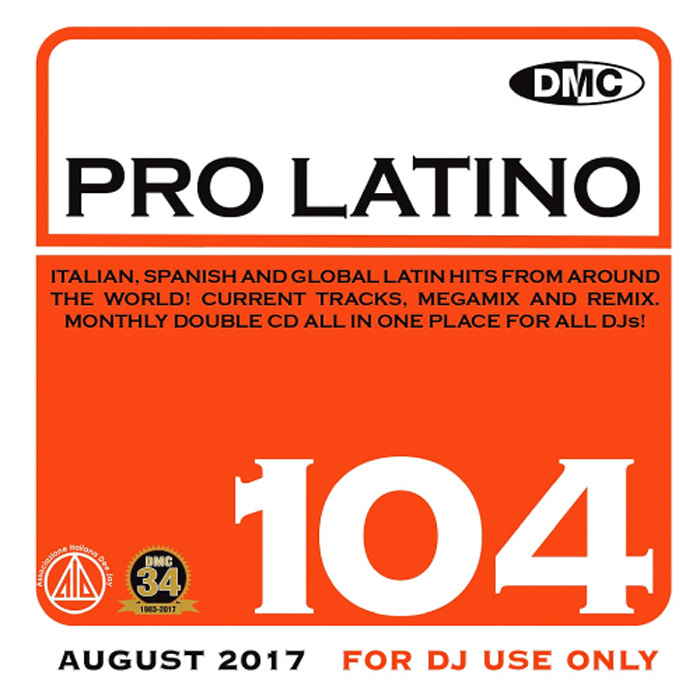 DMC Pro Latino 104 (Strictly DJ Only) [2017]