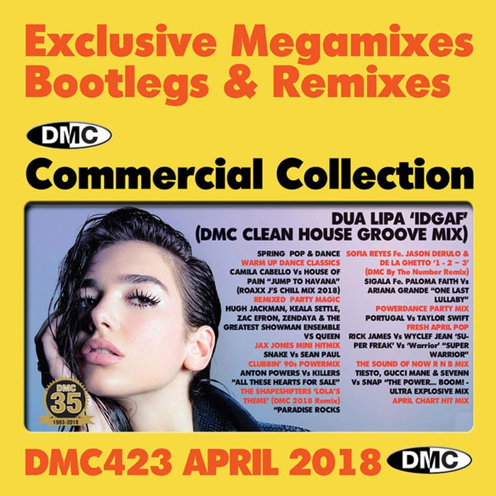 DMC Commercial Collection April 2018: Exclusive Megamixes Bootlegs & Remixes (Strictly DJ Only) [2018]