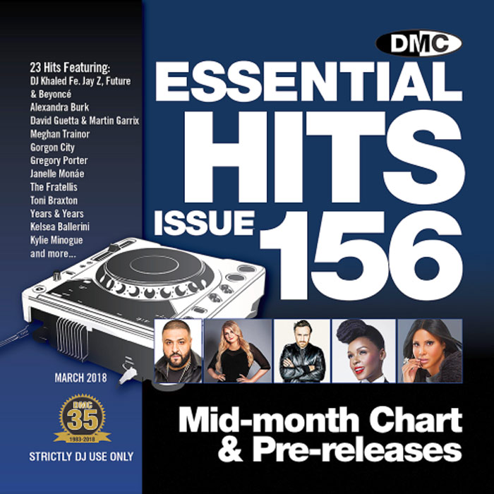 DMC Essential Hits 156 (Strictly DJ only) [2018]