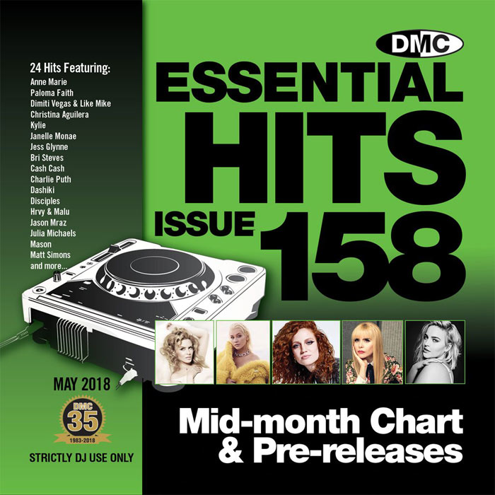 DMC Essential Hits 158 (Strictly DJ only) [2018]
