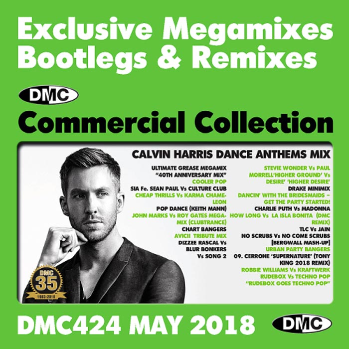 DMC Commercial Collection May 2018: Exclusive Megamixes Bootlegs & Remixes (Strictly DJ Only) [2018]