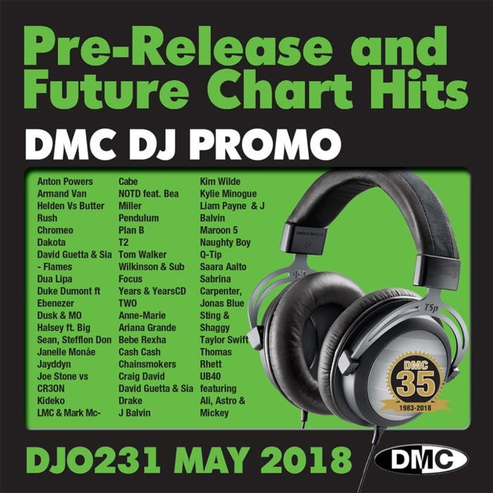 DJ Promo May 2018: Pre Release & Future Chart Hits (Strictly DJ Only) [2018]