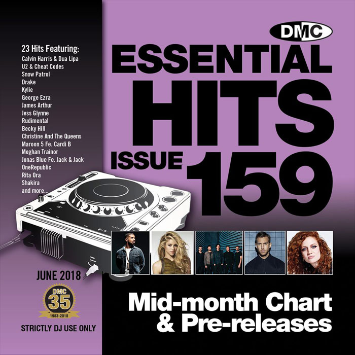 DMC Essential Hits 159 (Strictly DJ only) [2018]