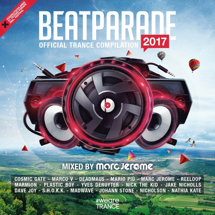 Beatparade 2017 (Official Trance Compilation By Marc Jerome)