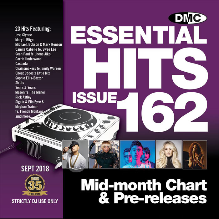 DMC Essential Hits 162 (Strictly DJ only) [2018]