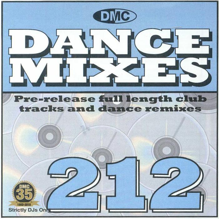 DMC Dance Mixes 212 (Strictly DJ Only) [2018]