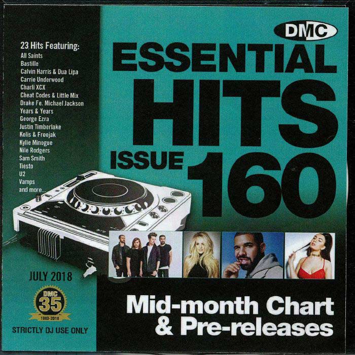 DMC Essential Hits 160 (Strictly DJ only) [2018]