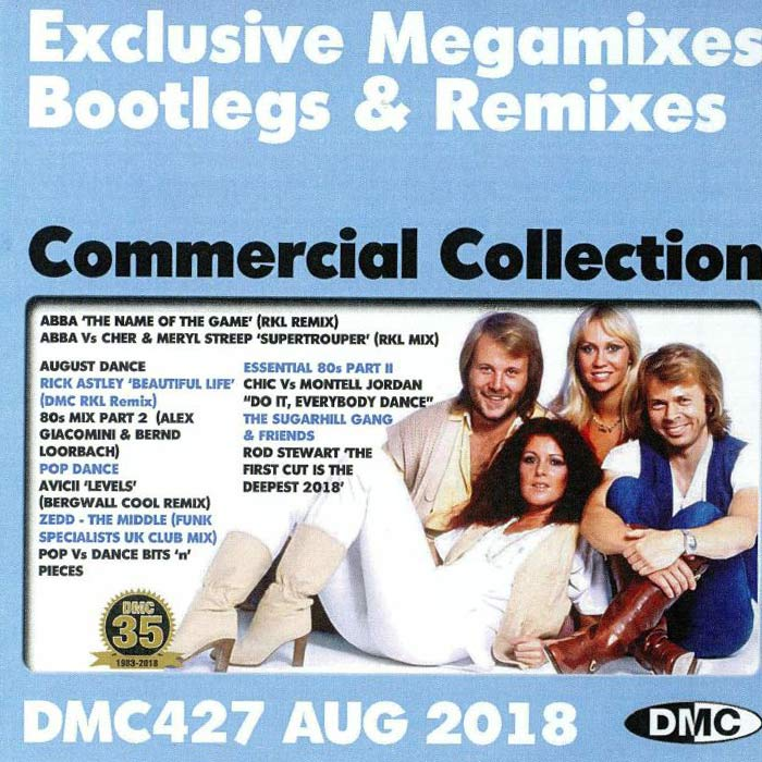 DMC Commercial Collection August 2018: Exclusive Megamixes Bootlegs & Remixes (Strictly DJ Only) [2018]
