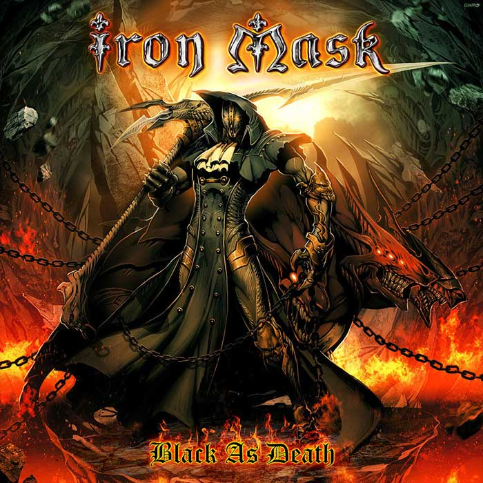 Iron Mask - Black As Death [2011]
