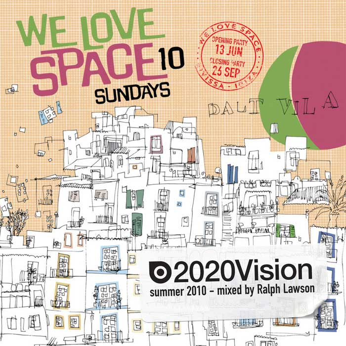 We Love Space Sundays (unmixed tracks + mixed by Ralph Lawson) [2010]