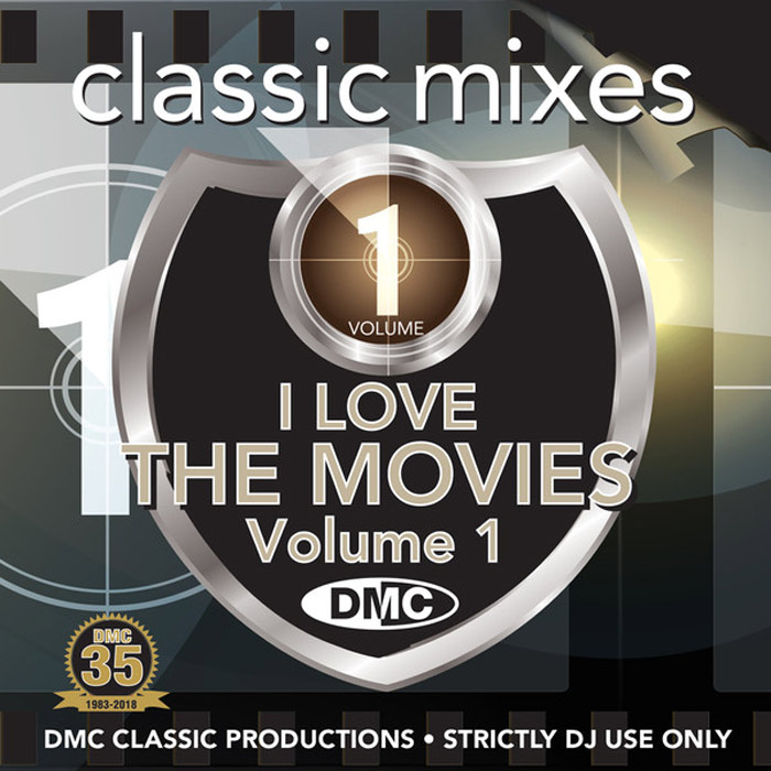 DMC Classic Mixes: I Love The Movies Vol. 1 (Strictly DJ Only)