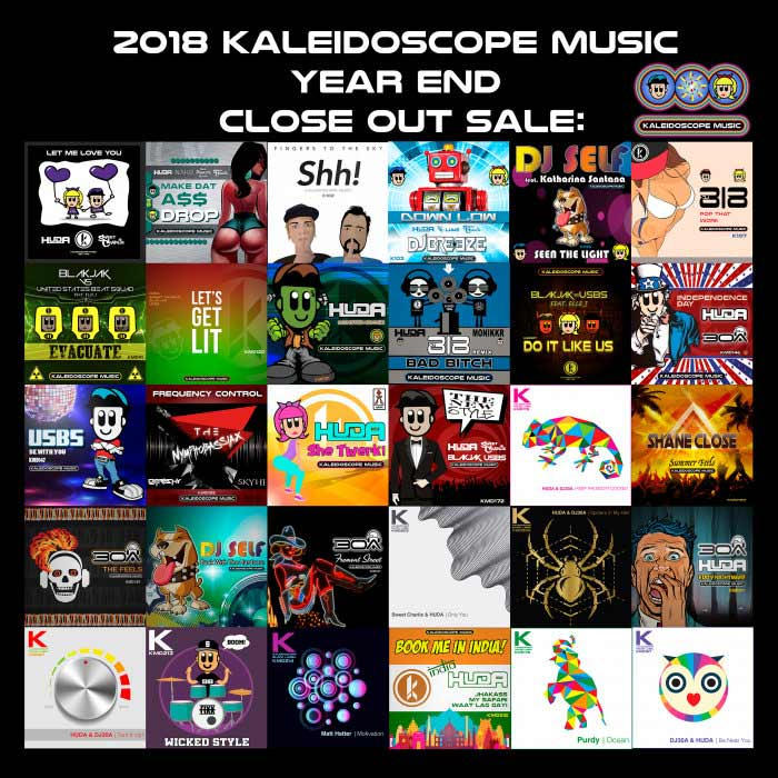 2018 Kaleidoscope Music Year End Sale [2018]